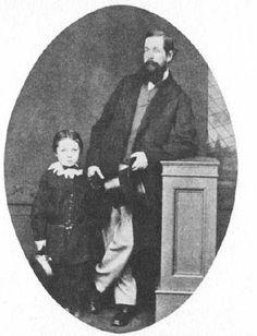 Six year-old Arthur Conan-Doyle in 1865.