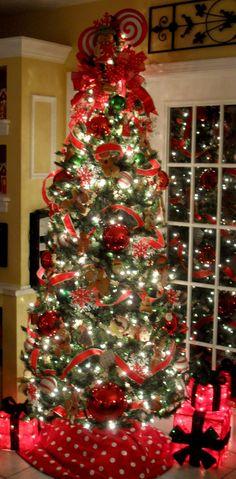Gingerbread Christmas Tree Christmas 2013 Holiday Decor