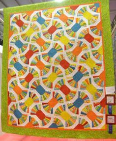 Candy wrapper quilt