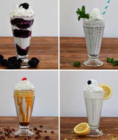 cocktail milkshakes