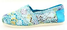 Toms - Crocheted Blue