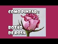 Como Pintar : Rosa ( Passo a Passo ) - YouTube