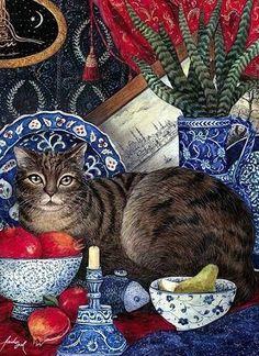 L'Assommoir Pretty Cat by Feridun Oral