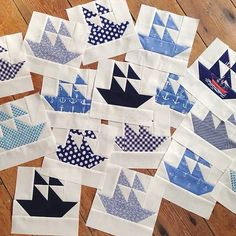 MessyJesse  Free PDF pattern here:  http://www.quiltmag.com/wp-content/uploads/2013/04/Final-Nautical.pdf