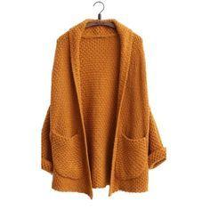 Knit Cardigan Coat Sweater Imported Casual Kintting Cardigan Material:Knitting One Size:Length 61cm,Sleeve 27cm Free shipping & 24 hours after-sales service Sweaters Cardigans