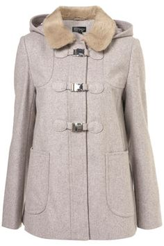 Tried this coat on in Chicago and loved it!! Short Fur Collar Swing Coat