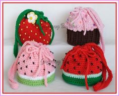Yummy Purses by GSnapBoutique | Crocheting Pattern