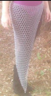 2 days left on this unique and sexy chainmail skirt and veil !! Place your bid soon !