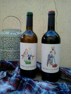 Enamorada de las botellas de Bebels de Batea de #terrasaltas #vino #winelovers #gastrolovers