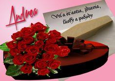 Andrea Veľa šťastia, zdravia, lásky a pohody