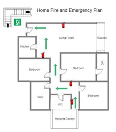 Use The Ideal Tool To Make The Perfect Home Emergency Evacuation Diagram  Effortlessly. Learn Some Tips For Effective Emergency Preparedness.