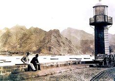 La Farola del Mar.1900 Santa Cruz de Tenerife