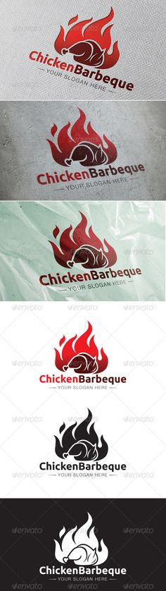 Chicken Barbeque Logo Template — Vector EPS #burn #outdoor chicken • Available here → https://graphicriver.net/item/chicken-barbeque-logo-template/6563503?ref=pxcr