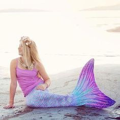 dbc682df89 Sponsored post  I was provided a Mermaid Tail to review. No other  compensation was