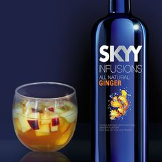NAUGHTY PUNCH Serves 12 -14 2 cups SKYY Infusions Ginger Vodka ...
