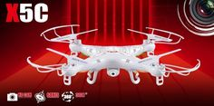 56.05$  Buy now - http://aliaot.worldwells.pw/go.php?t=32213752896 - newest Original Syma X5C 4CH 2.4G RC Remote Control Quadcopter /X5C Explorers with 2.0 Pixels HD Camera free shipping 56.05$