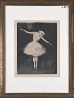 Onduidelijk gesigneerd, Danseres