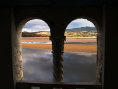 From Portmeirion yesterday 01-12-2012  Snowdonia isn't just for Summer!