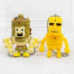 KINNIKUMAN Ashuraman + Sunshine Set Panson Works Mini Figure Ballchain JAPAN