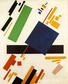 Suprematic Painting, 1916 by Kazimir Malevich. Suprematism. abstract