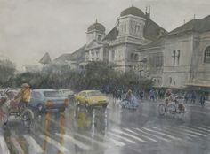 Jogjakarta, Indonesia ( donny prawira n his bad watercolor arts )