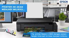Ikuti promo PRINTER EPSON L1800 GRATIS UNTUKKU, selain kamu berkesempatan memenangkan 1 unit printer Epson L1800, kamu juga bisa memenangkan 1 unit Epson L120 dan puluhan hadiah menarik lainnya. Segera daftar!