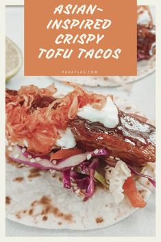 When I was at uni, I lived for the marinated tofu, mayo and pico de… Fermented Cabbage, Fermented Foods, Vegan Food, Vegan Recipes, Excelsior Hotel, Deep Fried Tofu, Tofu Tacos, Asian Slaw, Marinated Tofu