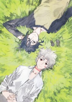 No.6 ~~ Relaxing together Nezumi & Shion & Robotic Mice
