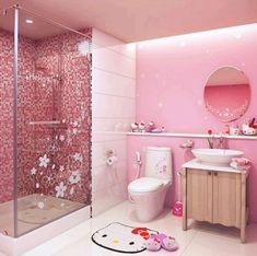 Bathroom...hello kitty: