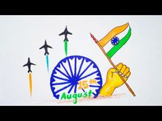 Independence Day Drawing / Independence Day Poster / 15th August Drawing / Happy Independence Day - YouTube Independence Day Drawing, Independence Day Poster, Happy Independence Day, Student Teaching, Drawings, Youtube, Painting, Art, Art Background