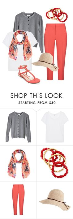 """""""Casual Summer Fashion For Women Over 40"""" by creativecaincabin on Polyvore featuring DAY Birger et Mikkelsen, Splendid, Sole Society, NEST Jewelry, MaxMara and New Directions"""