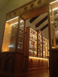 #Library #библиотека #мебельизмассивадерева #мебельиздуба #дубоваямебель #oakwood #oakfurniture #bubinga #bubingafurniture