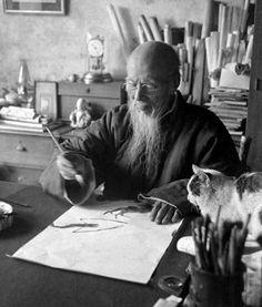 Chinese painter Qi Baishi