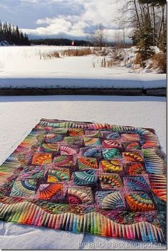 New York Beauty quilt pattern by Karen Stone