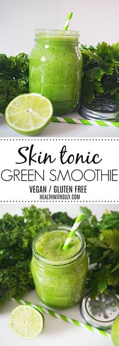 I've suffered from skin issues in the past and drinking this smoothie on a regular basis has helped clear my skin and made it radiant and glowing. It tastes so delicious and so refreshing as well! I'm saving this pin so I can refer to the recipe anytime! I love it!