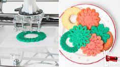 3D Printing of Christmas Cookies