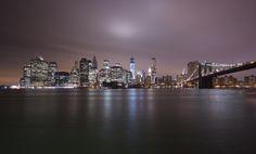 Brooklyn Bridge by night by Réza Kalfane on 500px