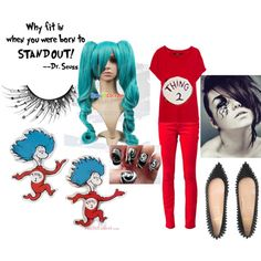 Thing1 And Thing 2 Costumes