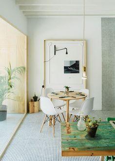 el piso de la semana como decorar con paredes con gotel l i v i n g u d i n i n g pinterest living room styles tes and style