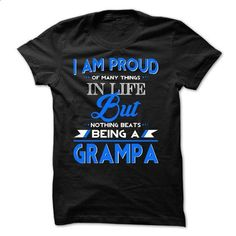 Proud Grampa - custom sweatshirts #shirt #teeshirt