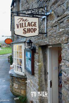 The Village Shop in Bainbridge,Yorkshire in North England! Yorkshire Dales, North Yorkshire, Yorkshire England, England And Scotland, England Uk, Northern England, English Village, English Cottages, Country Cottages