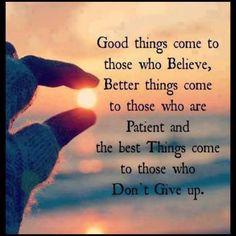 Good Things !
