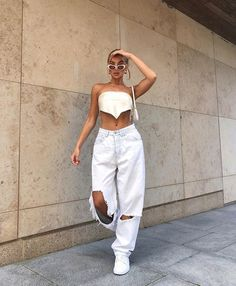Street Style Outfits, Mode Outfits, Fashion Outfits, Womens Fashion, Skirt Fashion, Moda Streetwear, Streetwear Fashion, Cute Casual Outfits, Summer Outfits