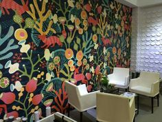Eco wall paper by Jaime Hayon