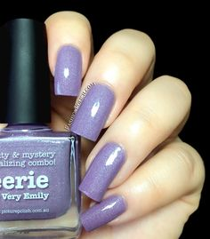 Fashion Polish: NEW from piCture pOlish : Storm and Color Storm, Eerie, Amethyst and Blue Dog