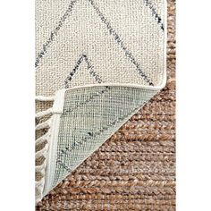 Shop for The Curated Nomad Ashbury Contemporary Geometric Tassel Area Rug. Get free delivery On EVERYTHING* Overstock - Your Online Home Decor Store! Yellow Area Rugs, White Area Rug, Beige Area Rugs, Modern Moroccan, Area Rugs For Sale, Online Home Decor Stores, Bohemian Rug, Contemporary, Tassel