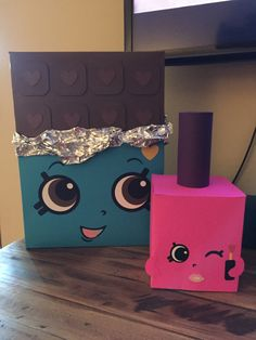 Sofies shopkins 6th bday. Cheeky chocolate & Polly Polish