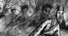 Serie Dragones, Fantasmas, Demonios, Monstruos. Cangrejo Editores. www.pablodebella.com.ar