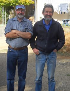 Graeme Kuhne and Allistair Black near Adelaide, Australia.  http://www.riverdellspiritualcentre.org.au/