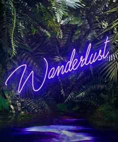 Yee Wong - Disco in the Jungle: Wanderlust Purple Purple Aesthetic, Aesthetic Rooms, Neon Wallpaper, Wallpaper Backgrounds, Photo Wall Collage, Picture Wall, Neon Jungle, Led Neon Signs, Neon Lighting